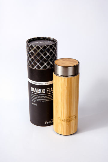 INSULATED BAMBOO FLASK FRESSKO