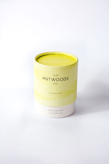 COCONUT & LIME WOODWICK CANDLE