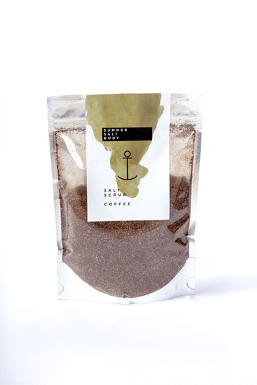 COFFEE SALT SCRUB