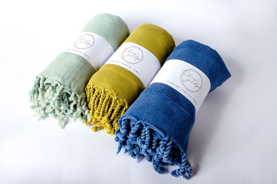 LUXE STONEWASHED TURKISH TOWEL