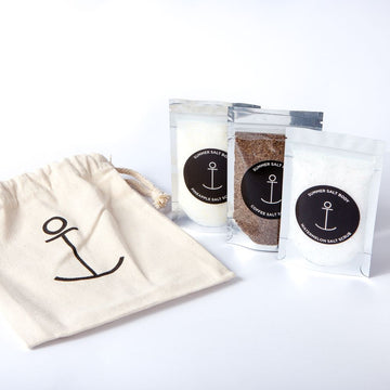 THREE MINI SALT SCRUB PACK