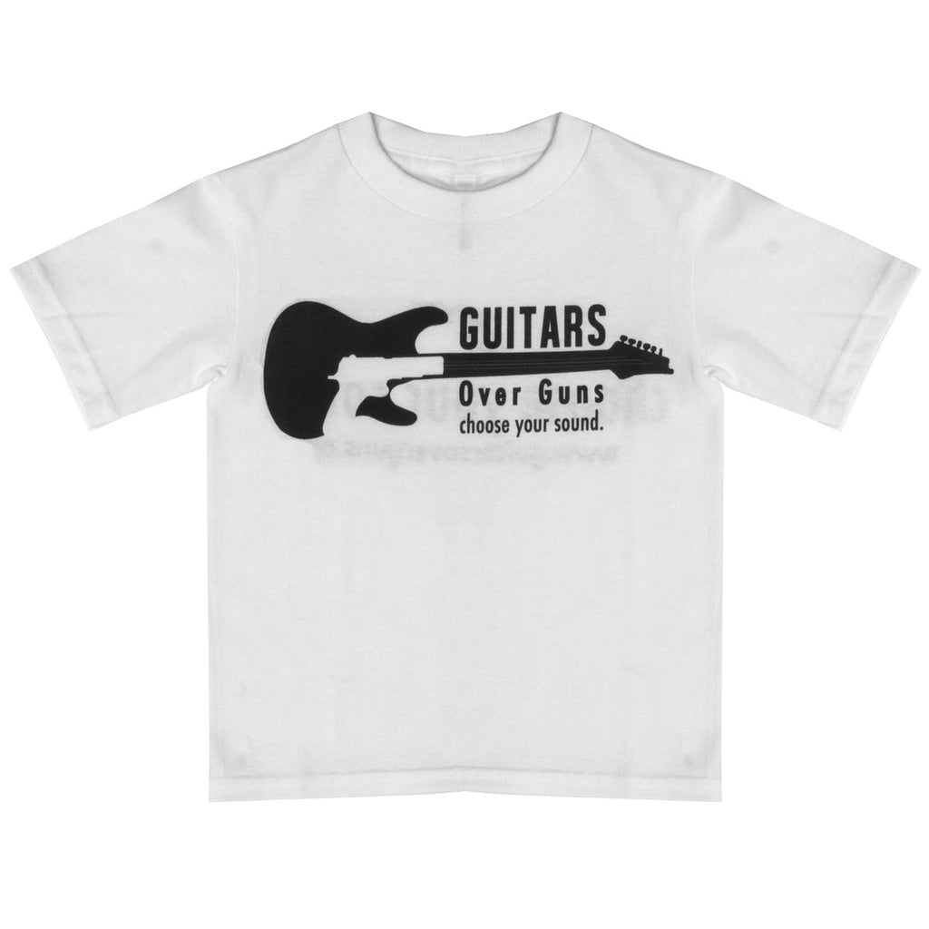 Guitars Over Guns Children's Unisex TShirt