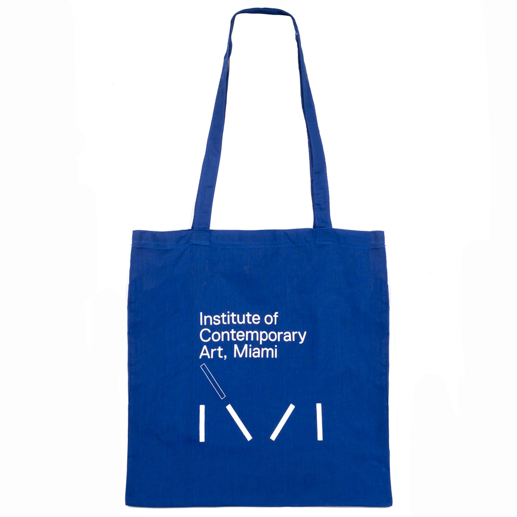 Institute of Contemporary Art Blue Tote Bag
