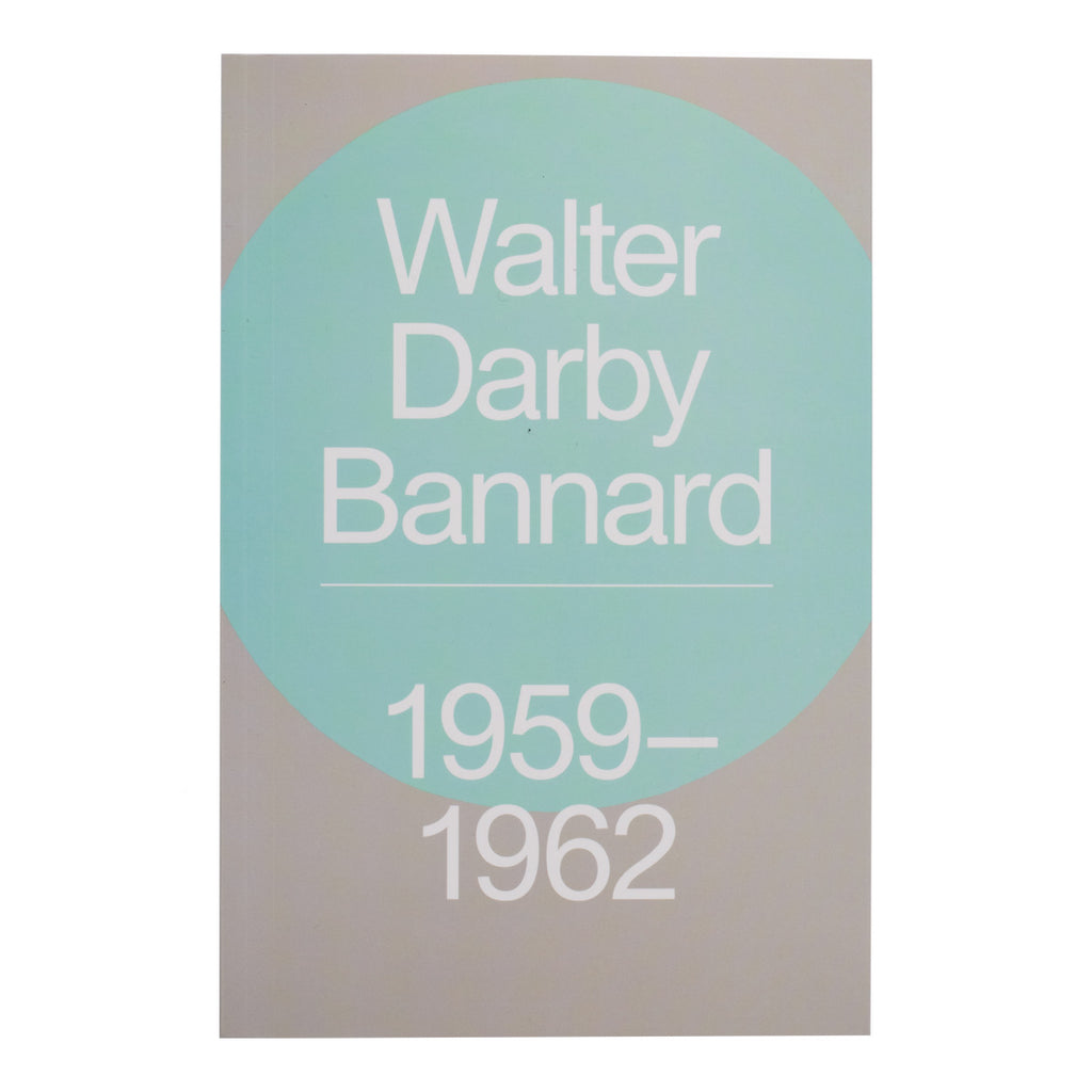 Institute of Contemporary Art Walter Darby Bannard Book