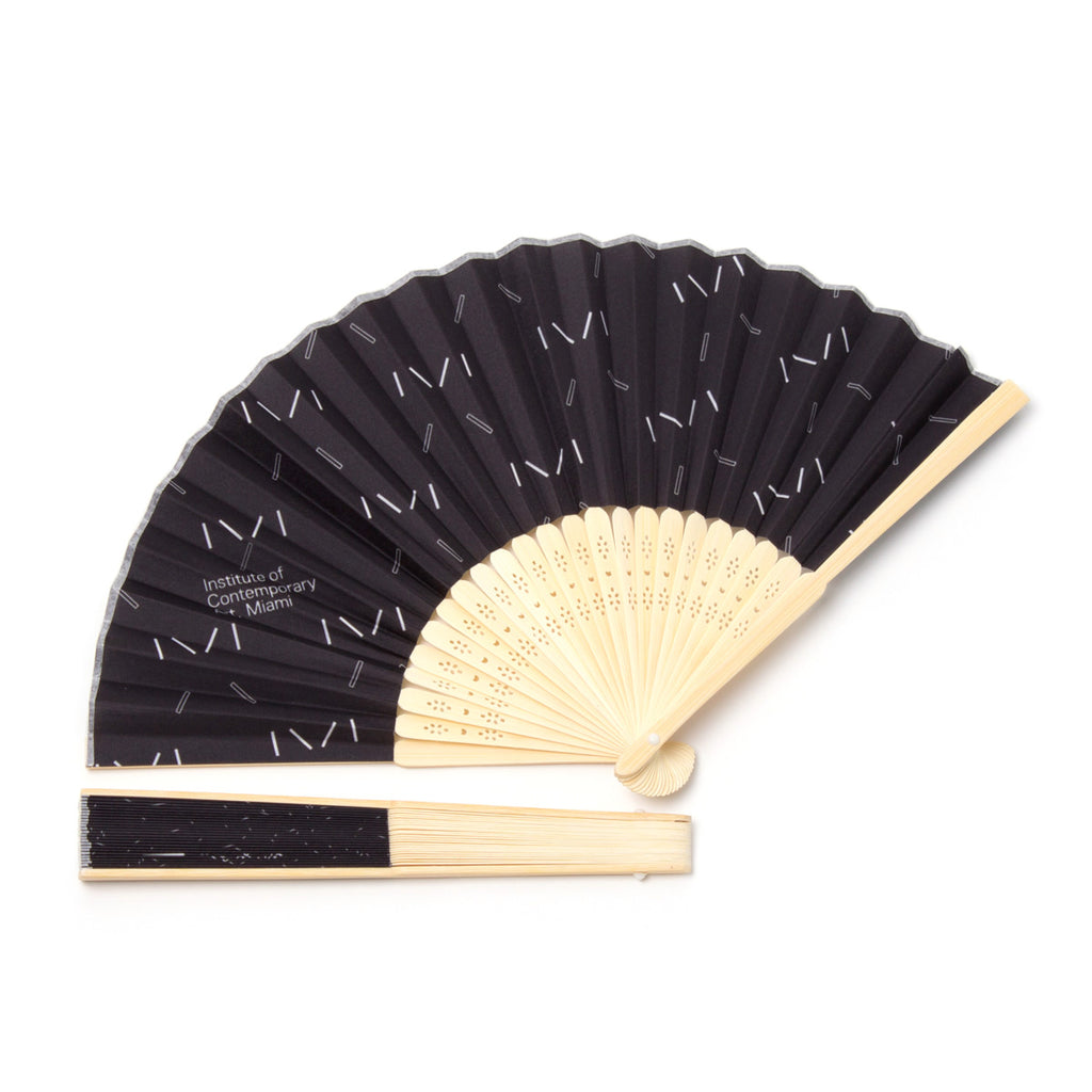 Institute of Contemporary Art Miami Collapsible Hand Fan, Design One
