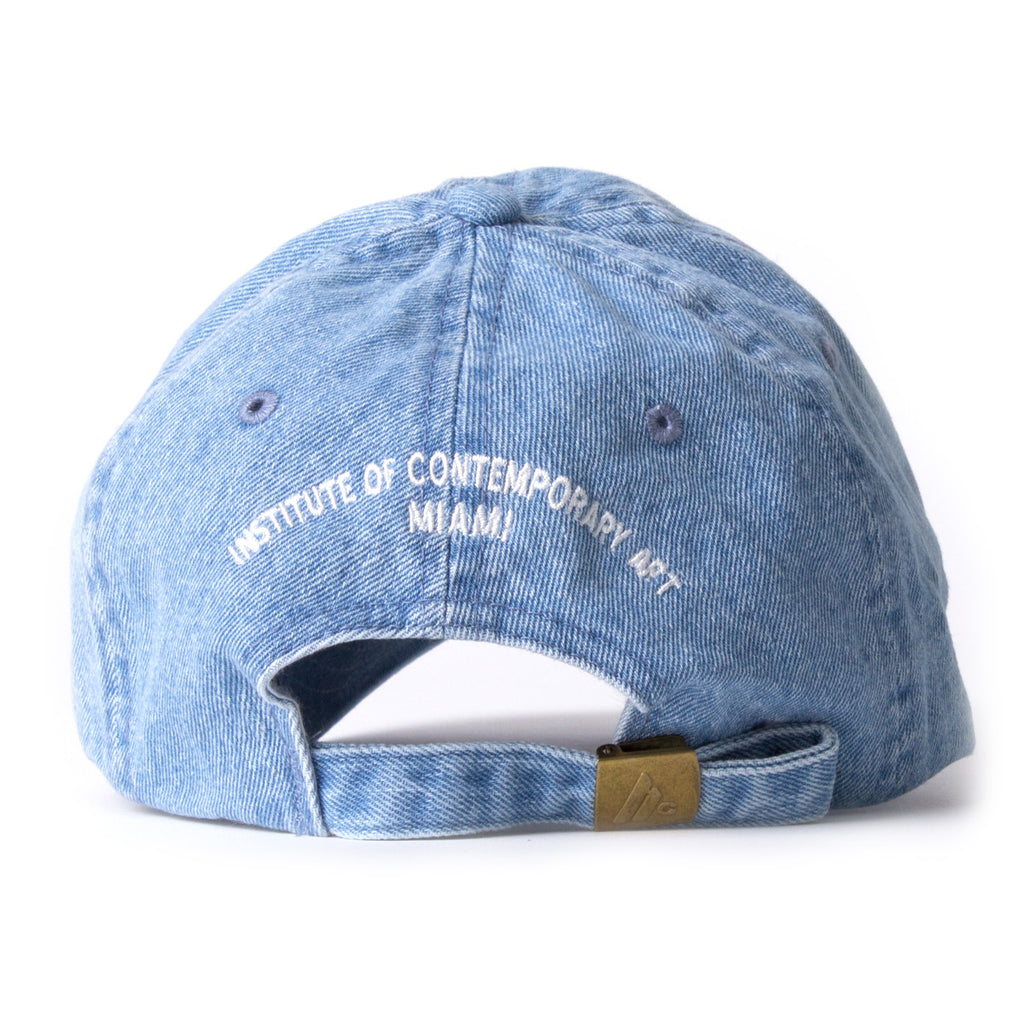 "Institute of Contemporary Art Miami Denim ""Shrug"" Cap"