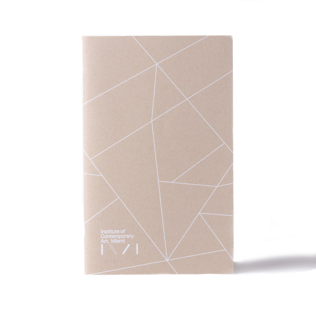 Institute of Contemporary Art Miami Canvas Notebook