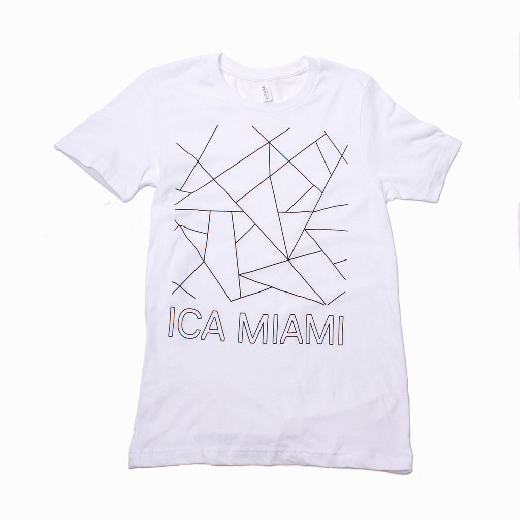 Institute of Contemporary Art Miami Short Sleeve White Tshirt