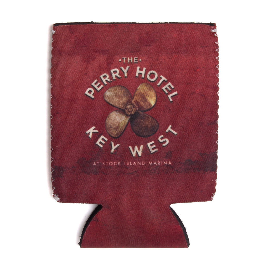 The Perry Hotel Collapsible Red Can Koozie