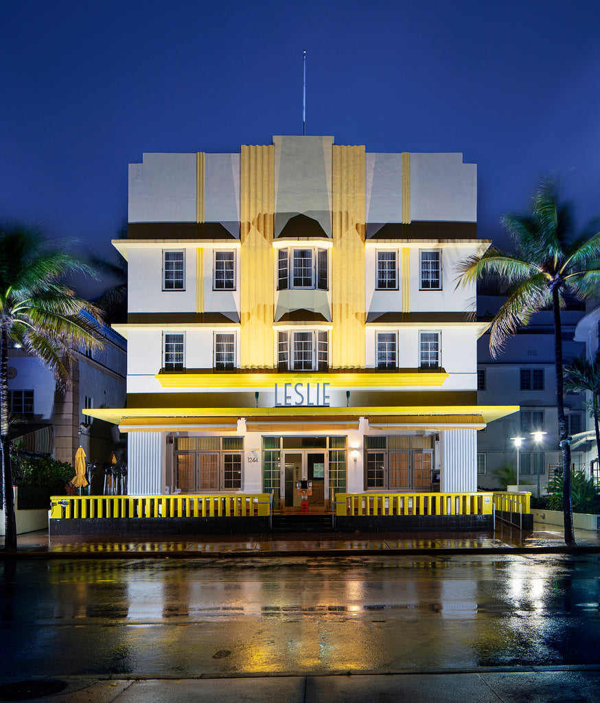 "Mike Butler Photography ""Leslie Hotel"" Photograph"
