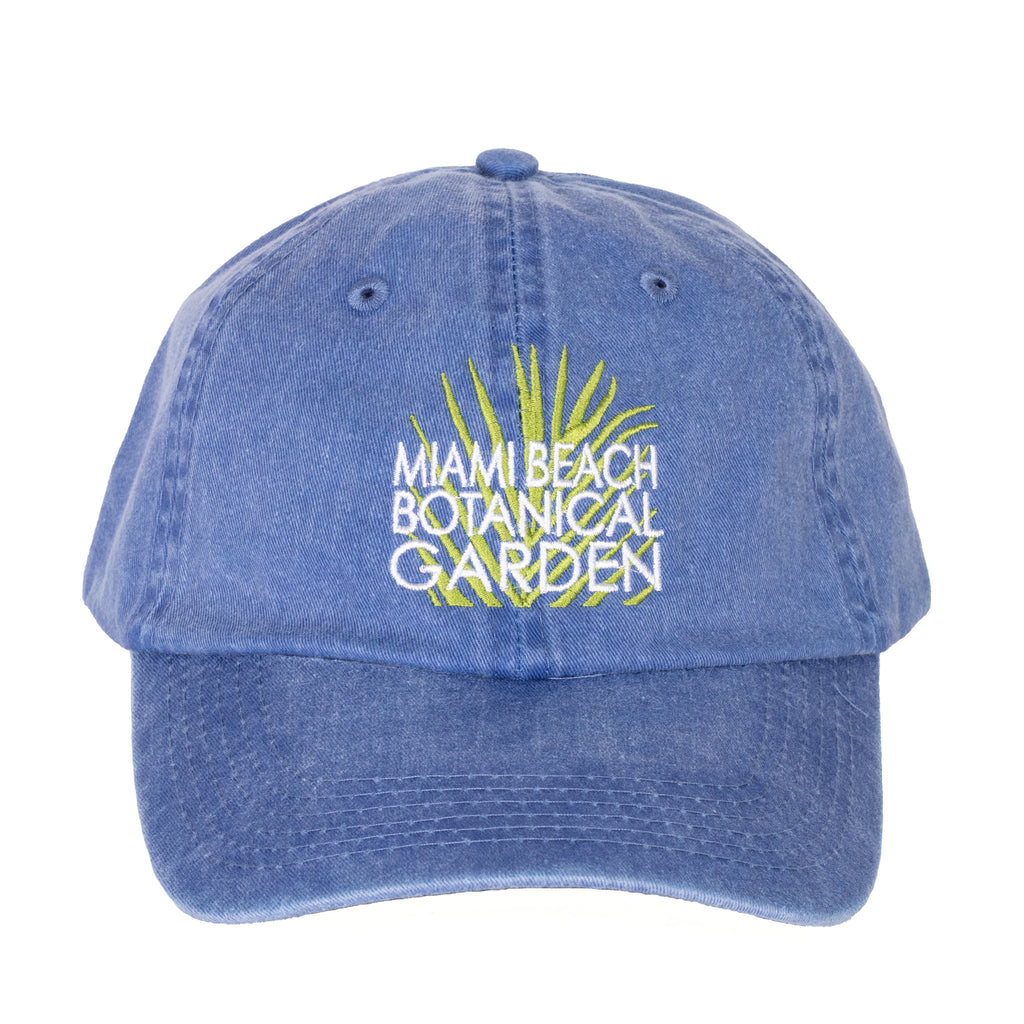 Miami Beach Botanical Garden Blue Hat