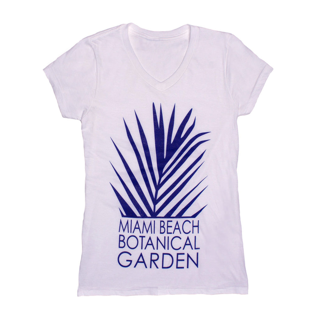 Miami Beach Botanical Garden Women's V-neck Tshirt