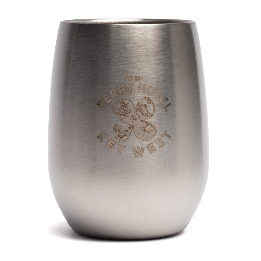The Perry Hotel Stainless Steel Wine Tumbler