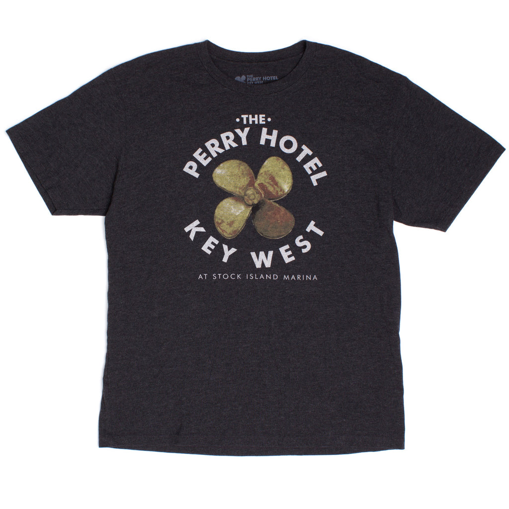 "The Perry Hotel Men's Black ""Write Drunk, Edit Sober"" Tshirt"
