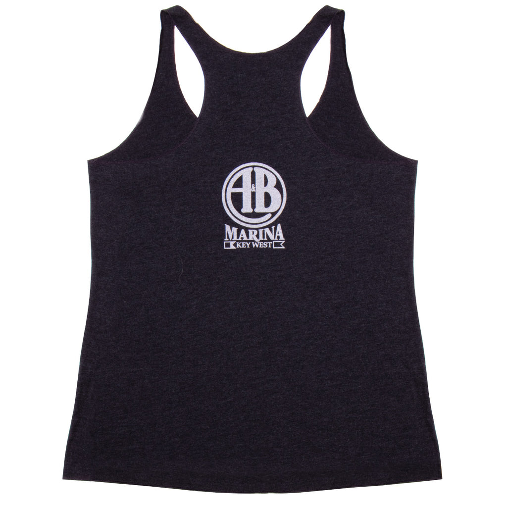 "The Perry Hotel Ladies Black ""Wrecked"" Tank Top"