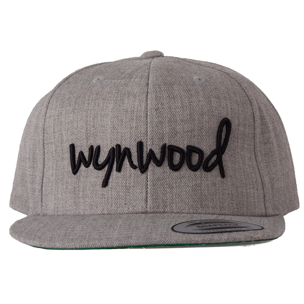 Wynwood Miami Gray Snapback Hat