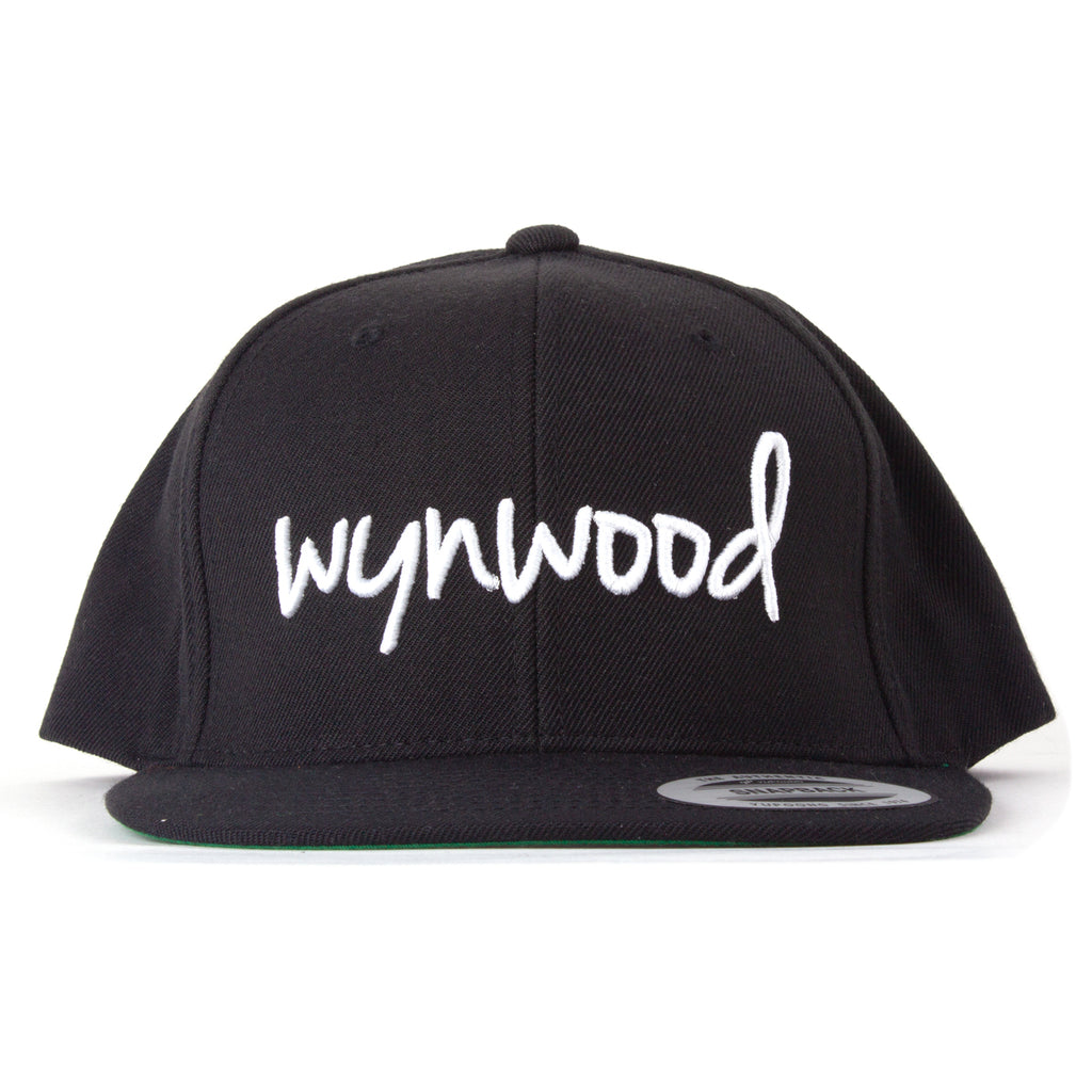 Wynwood Miami Black Snapback Hat