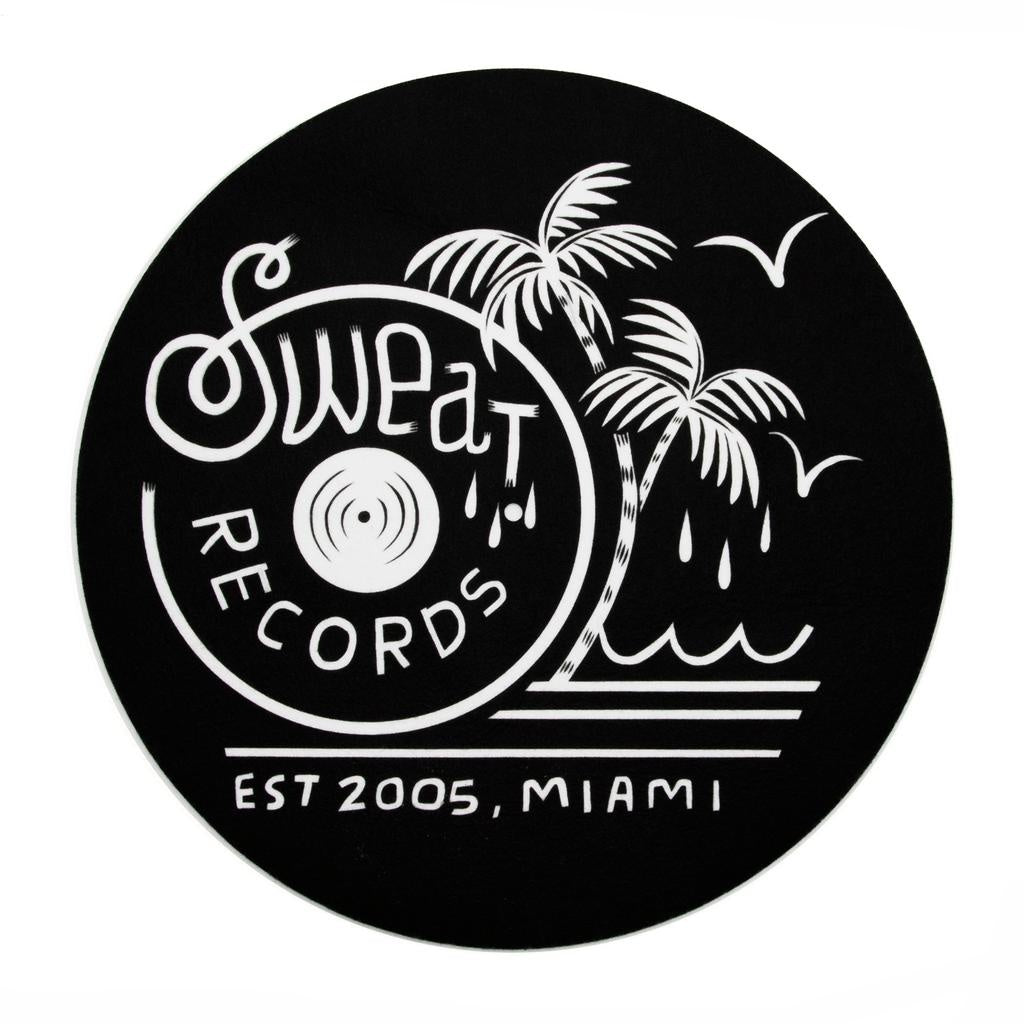 "Sweat Records x Brian Butler ""Palm"" Logo Slipmat"