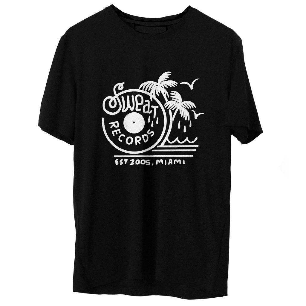 "Sweat Records x Brian Butler ""Palms"" Logo Tshirt"