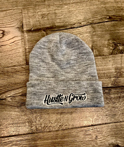 Hustle N Grow Embroidered Beanie - HustleNGrow