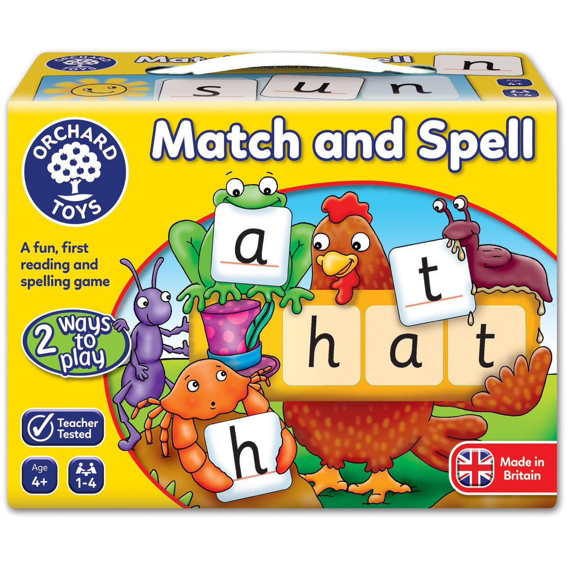 Match and Spell - The Tiny Toy Store