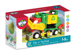 Flip 'n' Tip Fred - The Tiny Toy Store