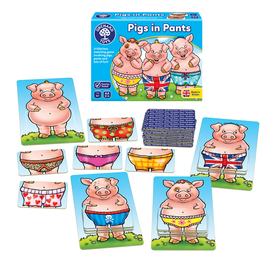 Pigs in Pants - The Tiny Toy Store