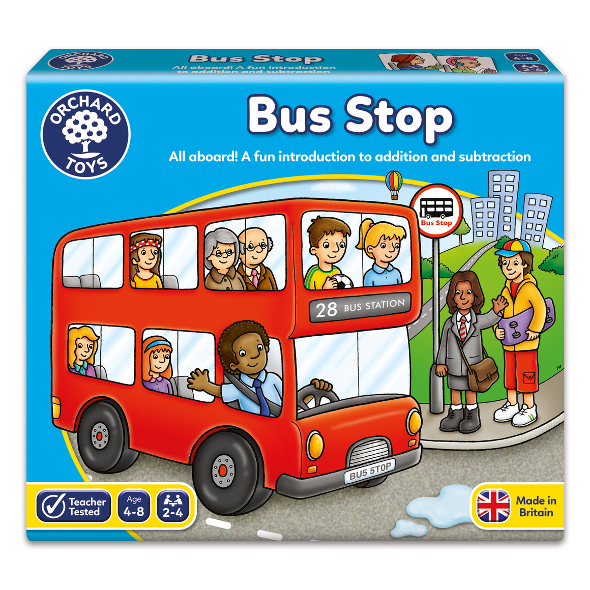 Bus stop - The Tiny Toy Store