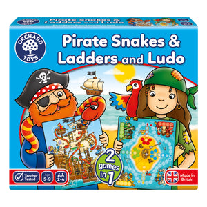Pirate snakes & Ladders and Luddo - The Tiny Toy Store