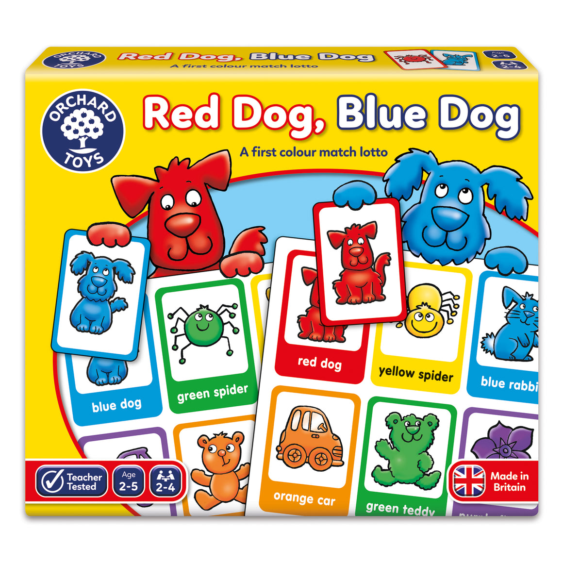 Red Dog, Blue Dog - The Tiny Toy Store