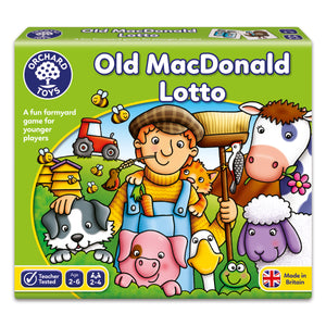 Old macDonald Lotto - The Tiny Toy Store