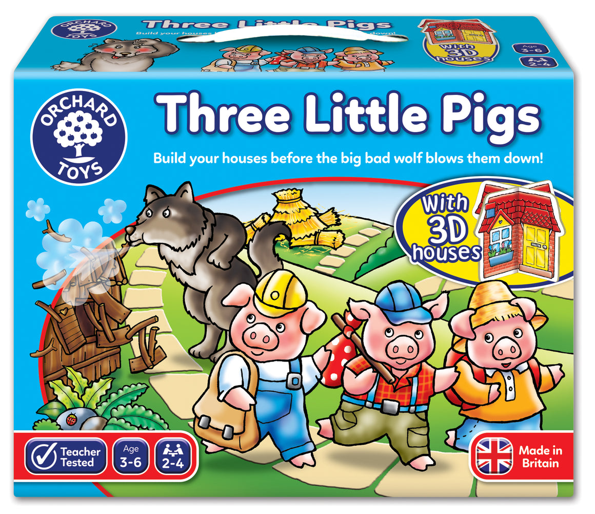 Three Little Pigs - The Tiny Toy Store