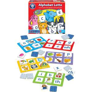 Alphabet Lotto - The Tiny Toy Store