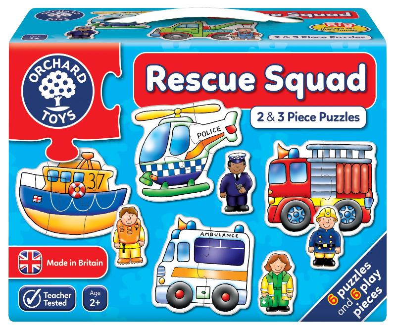 Rescue Squad - The Tiny Toy Store
