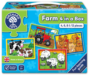 Farm Four in a Box - The Tiny Toy Store