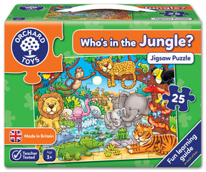 Who's in the Jungle? - The Tiny Toy Store