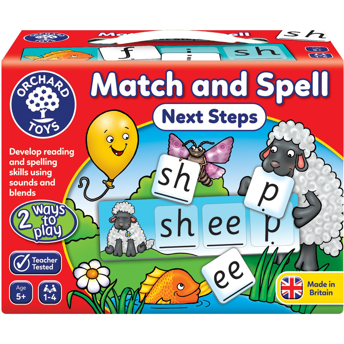 Match and spell next steps - The Tiny Toy Store