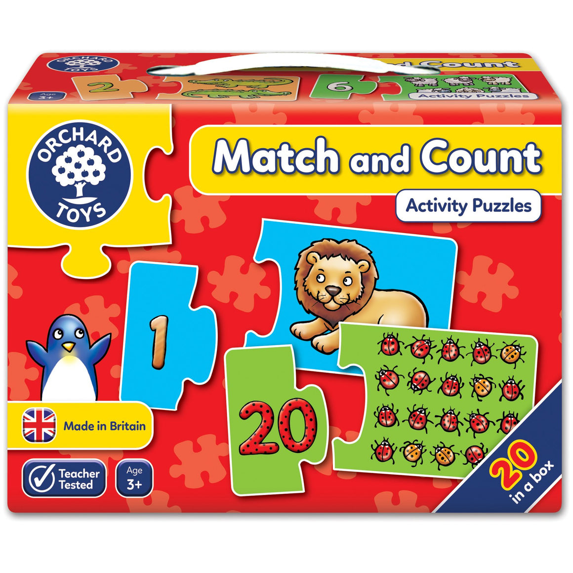 Match and count - The Tiny Toy Store