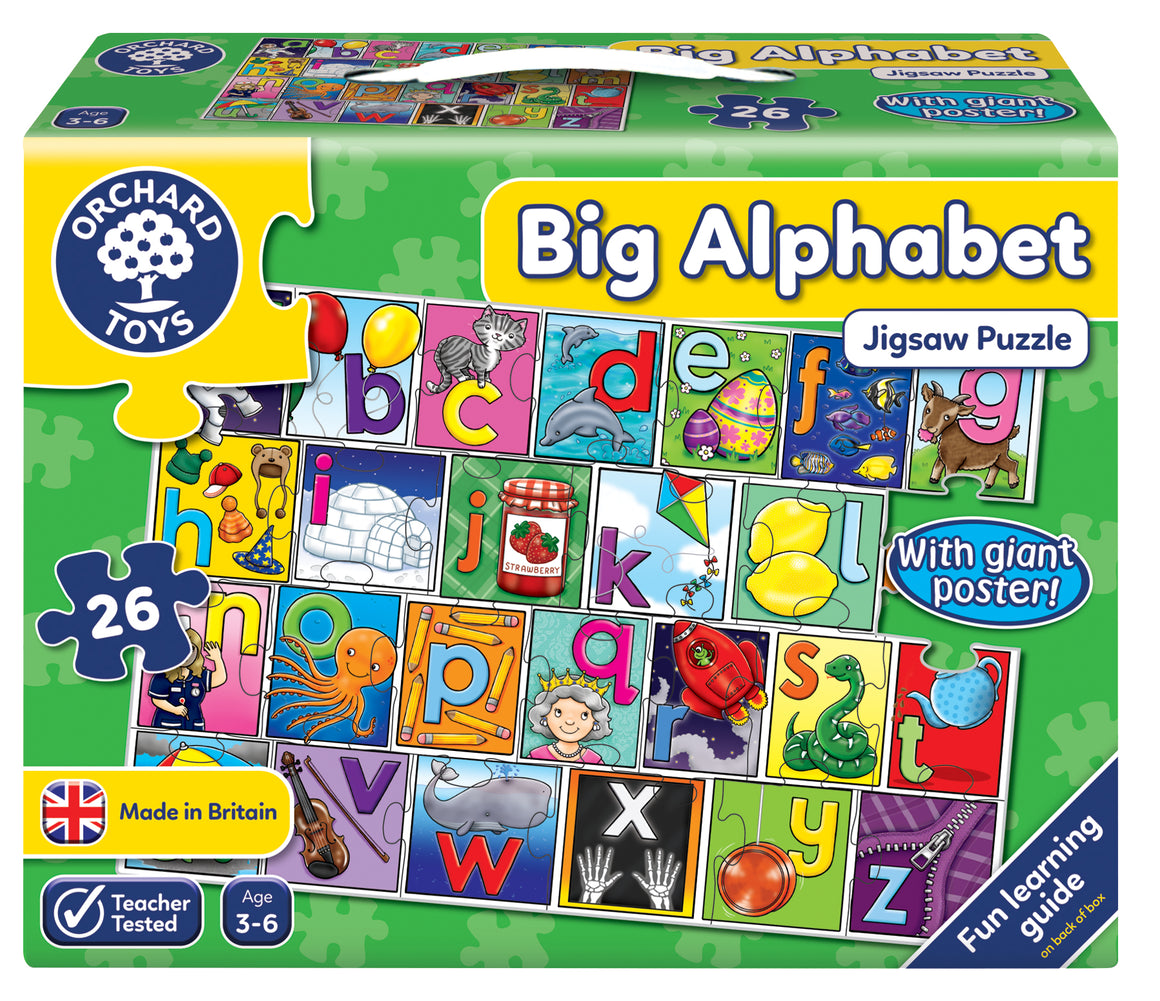 Big Alphabet Jigsaw - The Tiny Toy Store