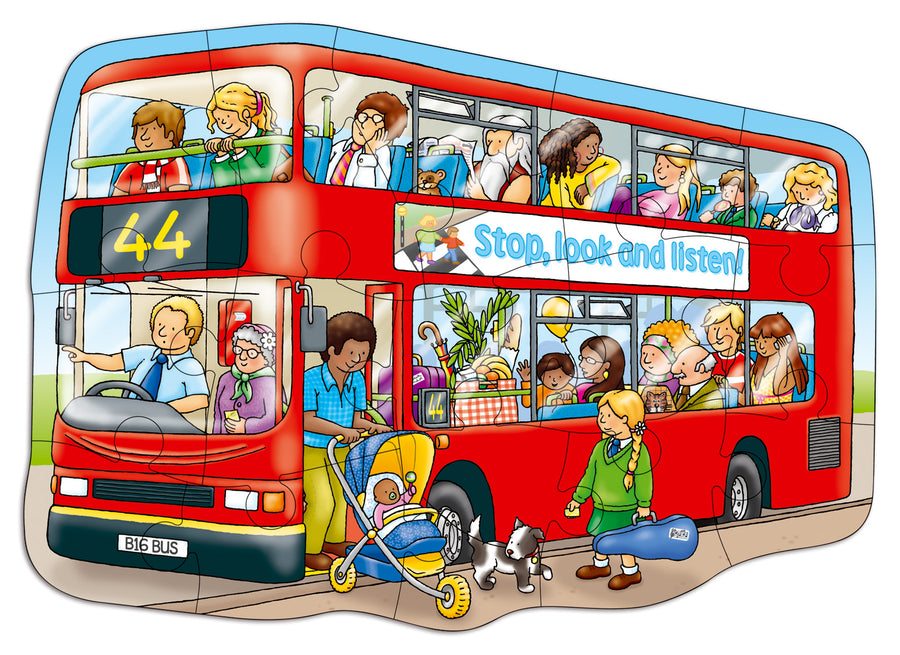 Big Red Bus - The Tiny Toy Store