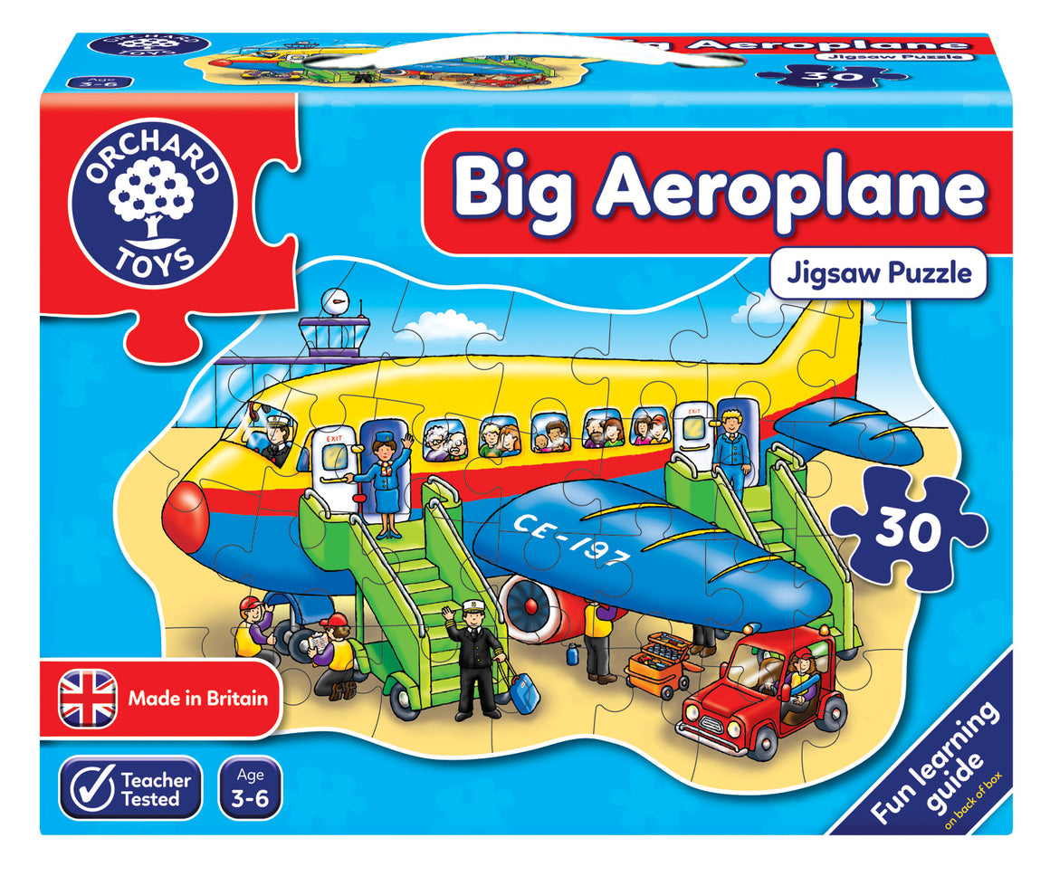 Big Aeroplane - The Tiny Toy Store