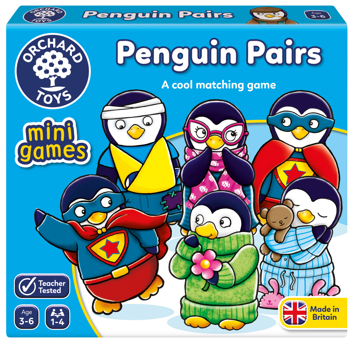 Mini Games -   Penguin Pairs - The Tiny Toy Store