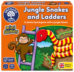 Mini Games -  Jungles Snakes and Ladders - The Tiny Toy Store