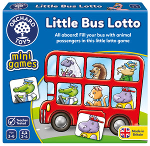 Mini Games -  Little Bus Lotto - The Tiny Toy Store