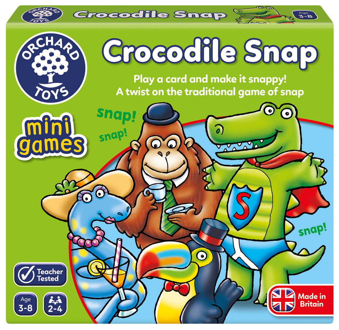 Mini Games -  Crocodile Snap - The Tiny Toy Store