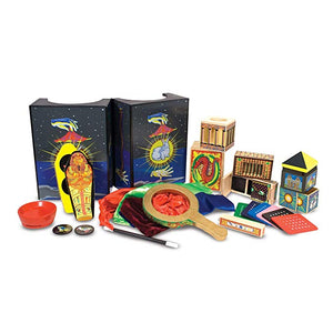Melissa & Doug Deluxe Solid-Wood Magic Set With 10 Classic Tricks - The Tiny Toy Store