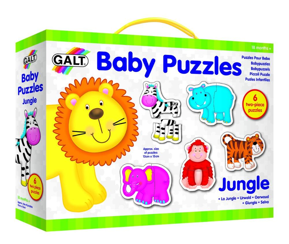Baby Puzzle - Jungle - The Tiny Toy Store