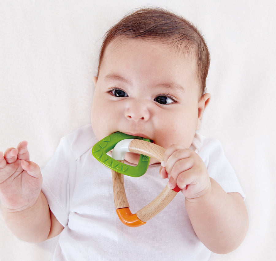 DOUBLE TRIANGLE TEETHER - The Tiny Toy Store