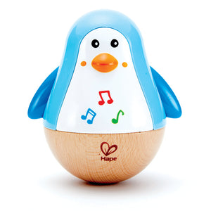 PENGUIN MUSICAL WOBBLER - The Tiny Toy Store