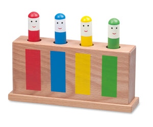 Classic Pop-Up Toy, Multi-Coloured - The Tiny Toy Store